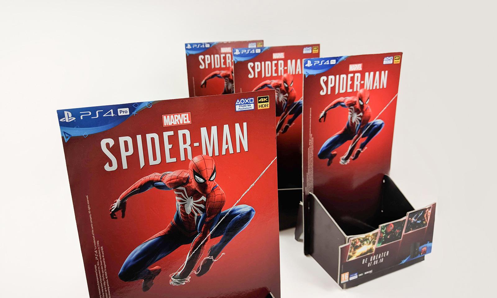 "POS – ekspozytor ""Spider-Man"""