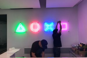 Branding biura PlayStation