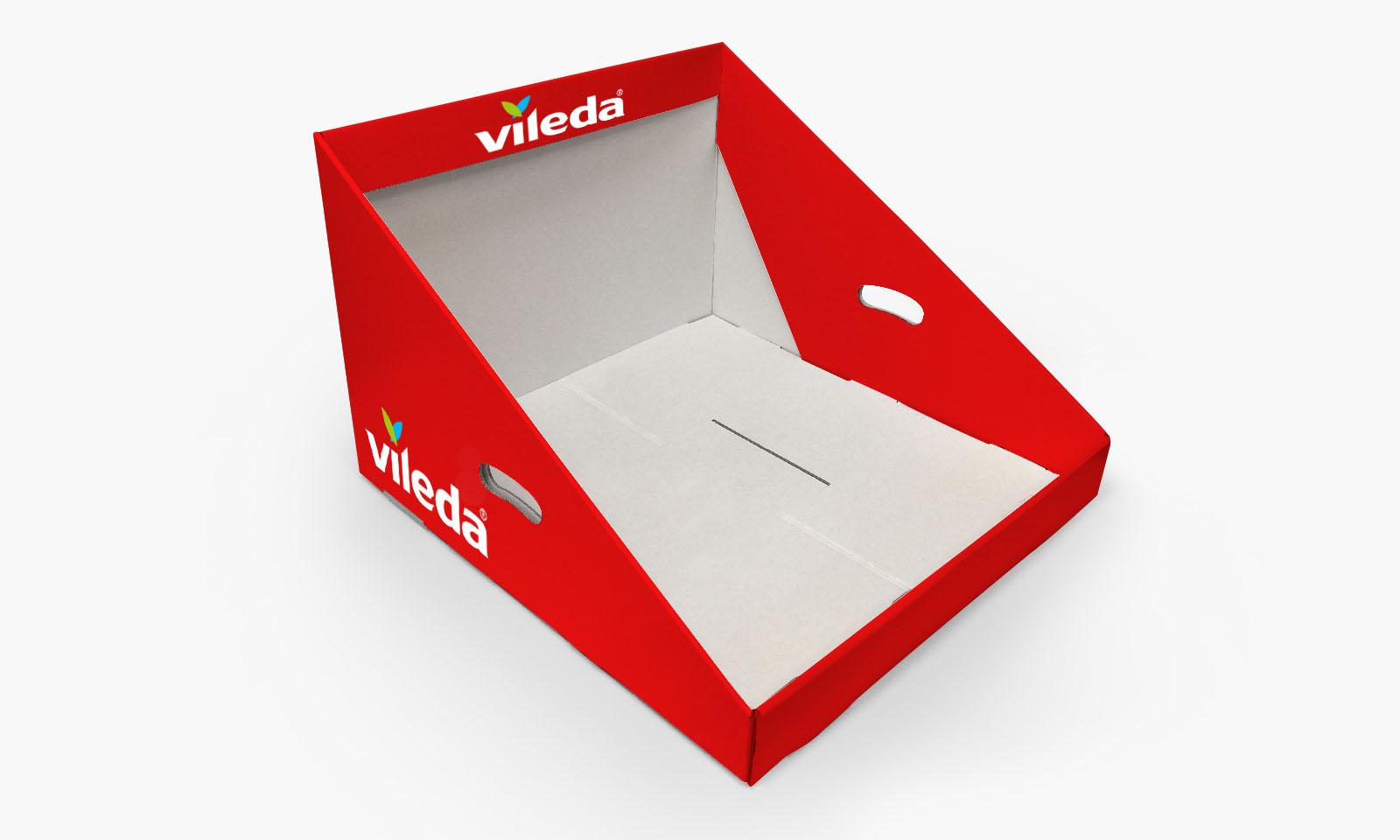 Ekspozytor produktowy Vileda