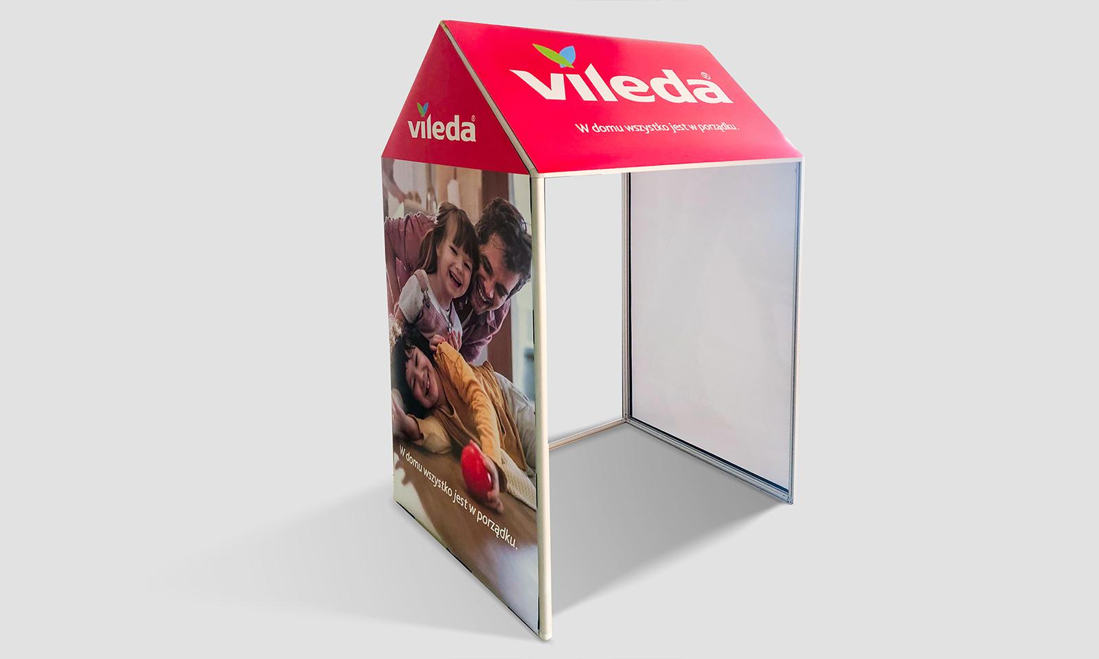 Stand VILEDA – domek