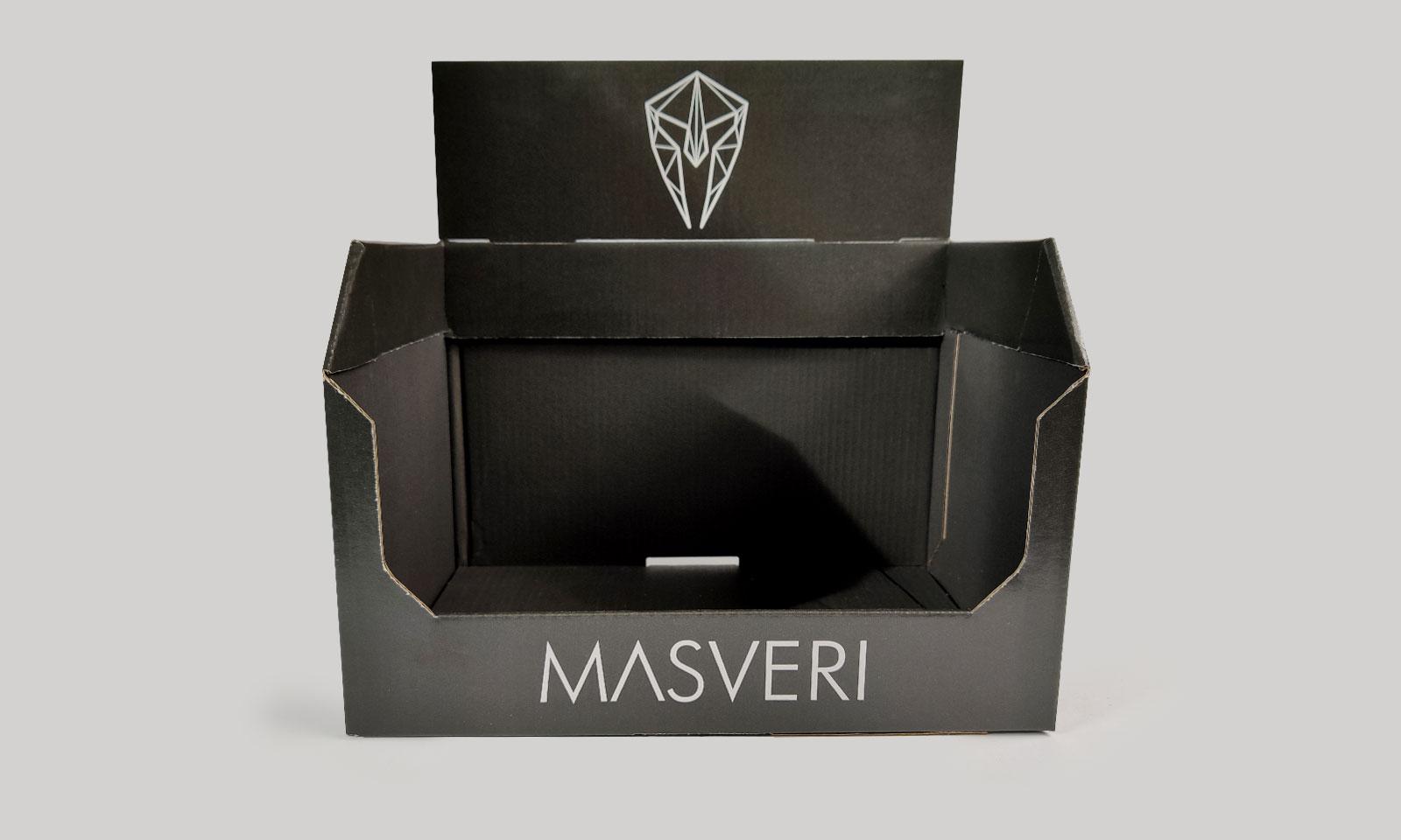 Ekspozytor na kosmetyki Masveri