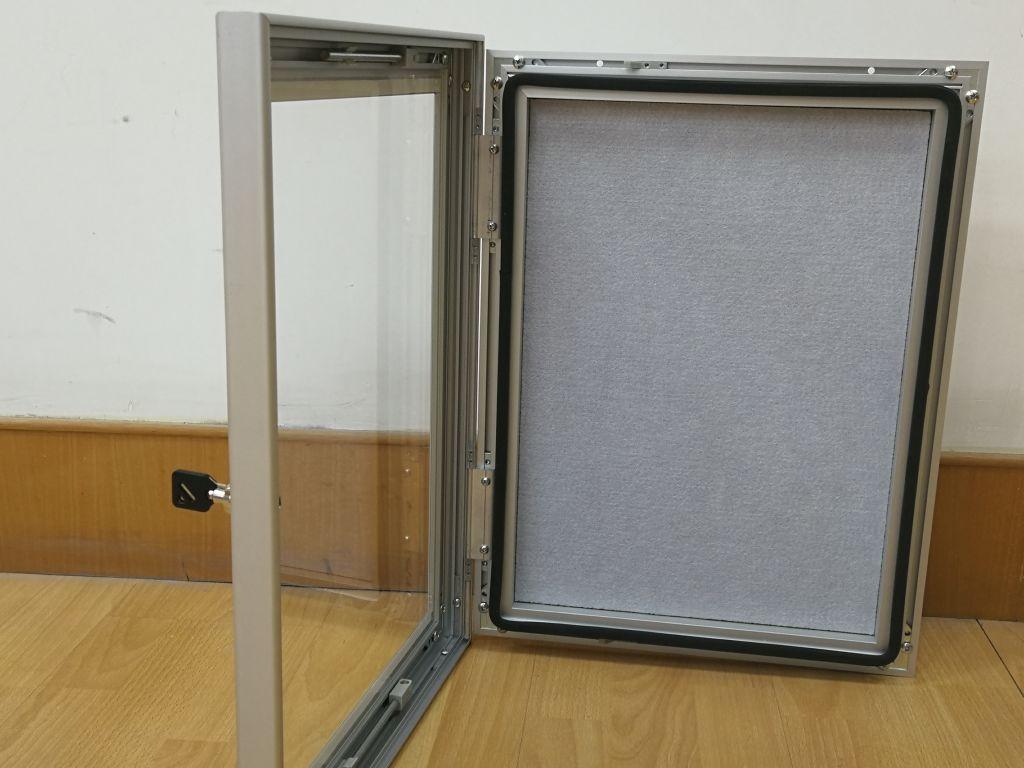 Gabloty plakatowe/ogłoszeniowe zamykane na kluczyk